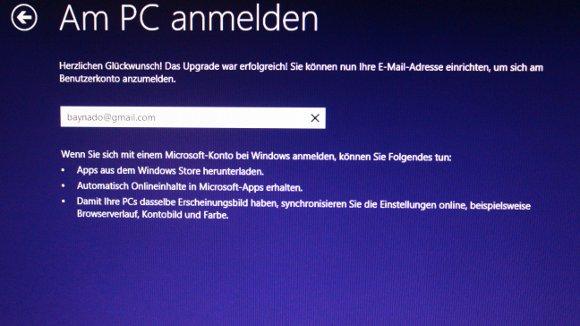 Enge Verknüpfung mit dem Microsoft-Konto