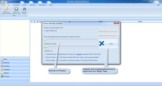 Stellar Phoenix Outlook PST Repair 2