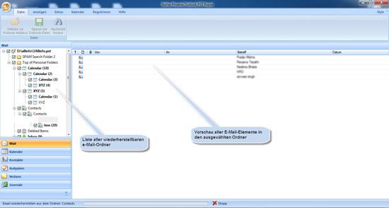 Stellar Phoenix Outlook PST Repair 3