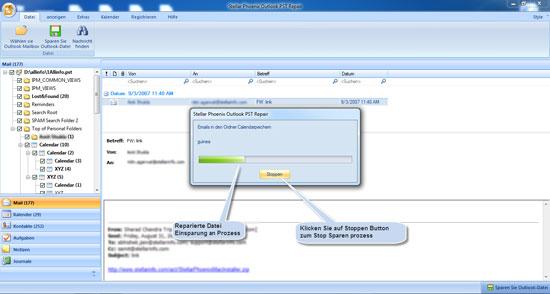 Stellar Phoenix Outlook PST Repair 5