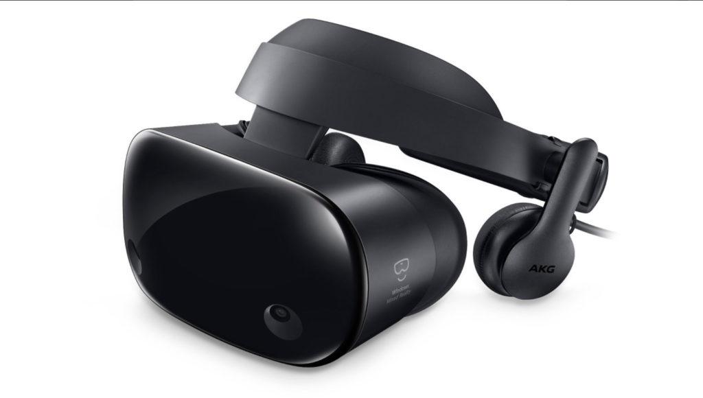 Samsung MR Headset, seitlich